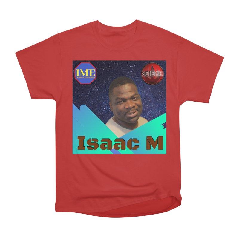 Isaac M - Poster Women's Heavyweight Unisex T-Shirt by 8010az's Shop