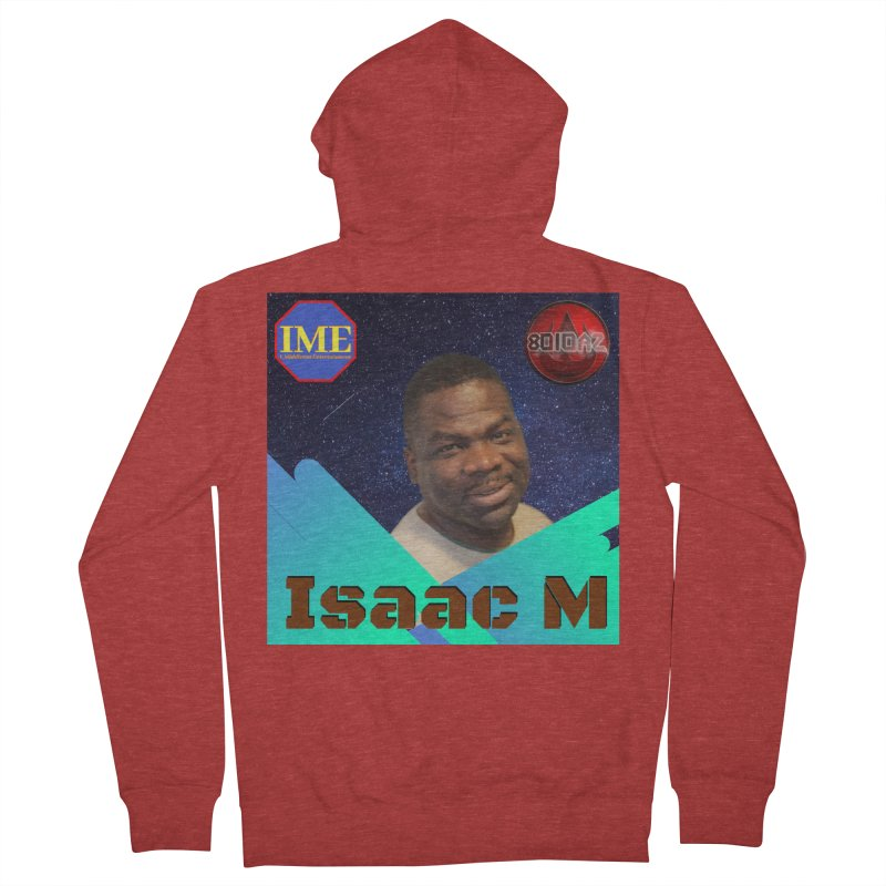 Isaac M - Poster Women's French Terry Zip-Up Hoody by 8010az's Shop