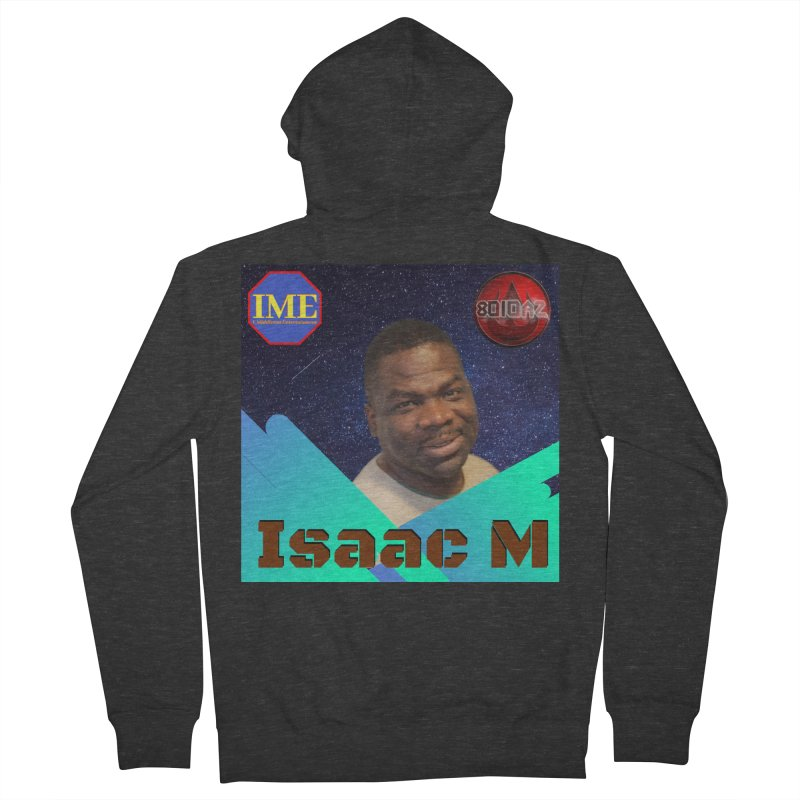 Isaac M - Poster Men's French Terry Zip-Up Hoody by 8010az's Shop