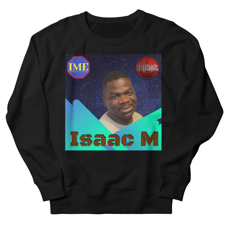 Isaac M - Poster Women's French Terry Sweatshirt by 8010az's Shop