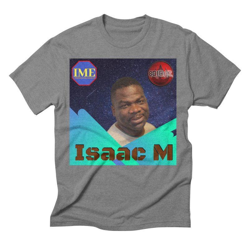 Isaac M - Poster Men's Triblend T-Shirt by 8010az's Shop