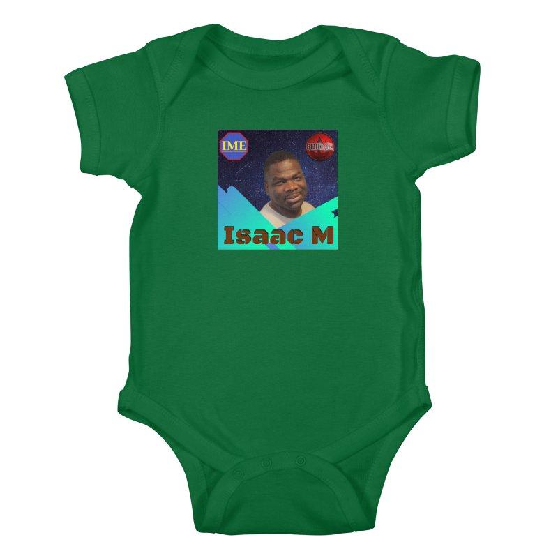 Isaac M - Poster Kids Baby Bodysuit by 8010az's Shop