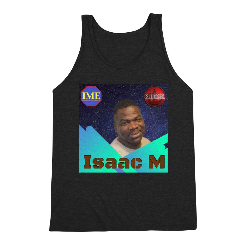 Isaac M - Poster Men's Triblend Tank by 8010az's Shop
