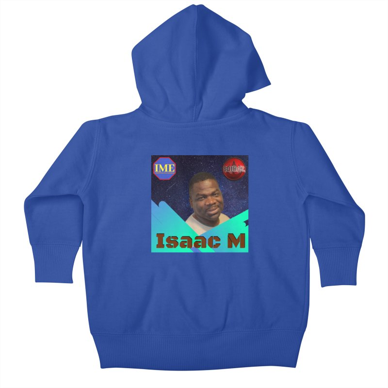 Isaac M - Poster Kids Baby Zip-Up Hoody by 8010az's Shop
