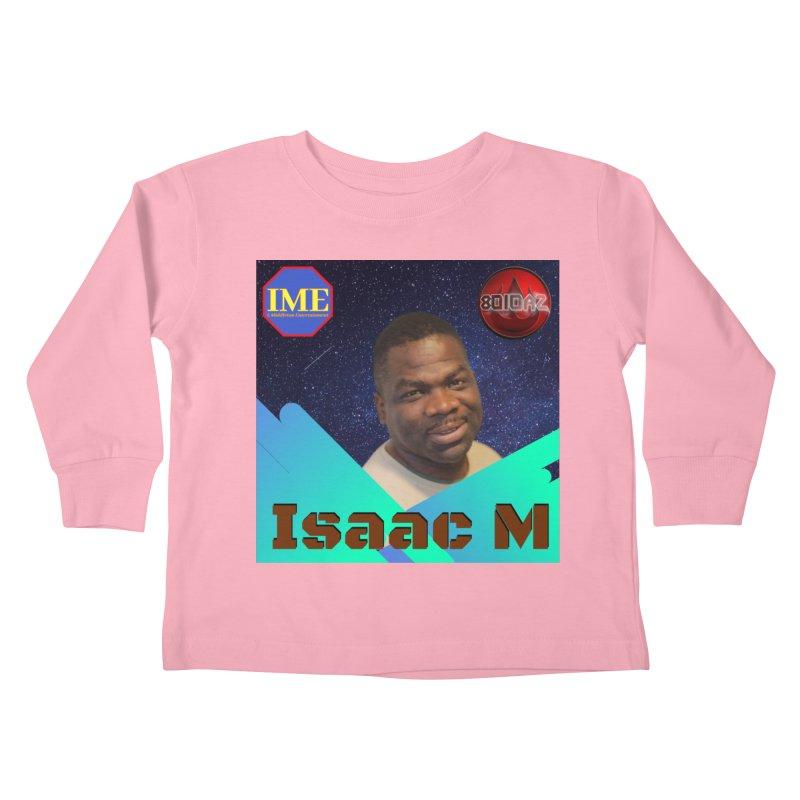 Isaac M - Poster Kids Toddler Longsleeve T-Shirt by 8010az's Shop