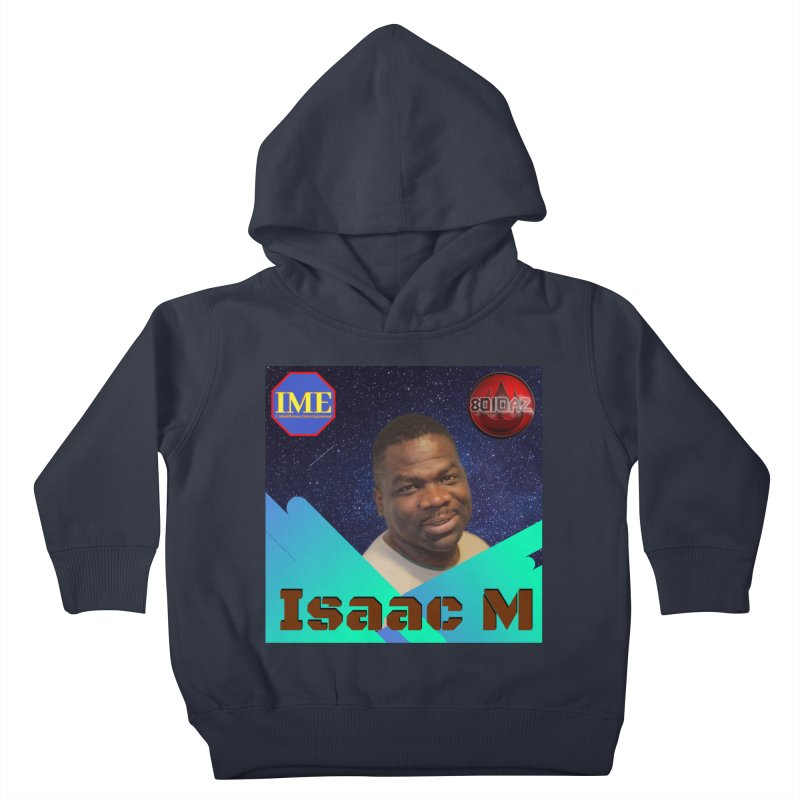 Isaac M - Poster Kids Toddler Pullover Hoody by 8010az's Shop