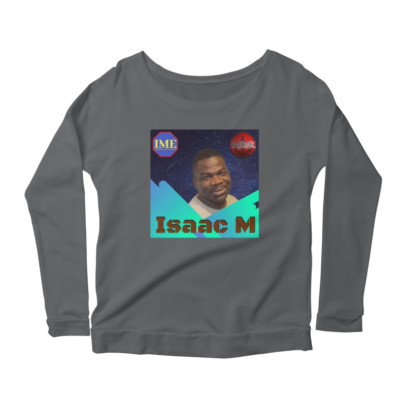 Isaac M - Poster Women's Scoop Neck Longsleeve T-Shirt by 8010az's Shop