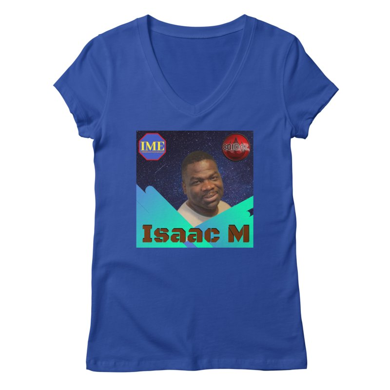 Isaac M - Poster Women's Regular V-Neck by 8010az's Shop