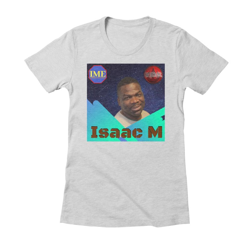 Isaac M - Poster Women's Fitted T-Shirt by 8010az's Shop