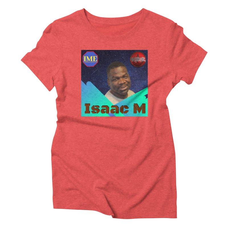 Isaac M - Poster Women's Triblend T-Shirt by 8010az's Shop