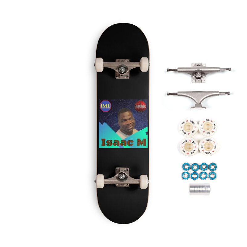 Isaac M - Poster Accessories Complete - Premium Skateboard by 8010az's Shop