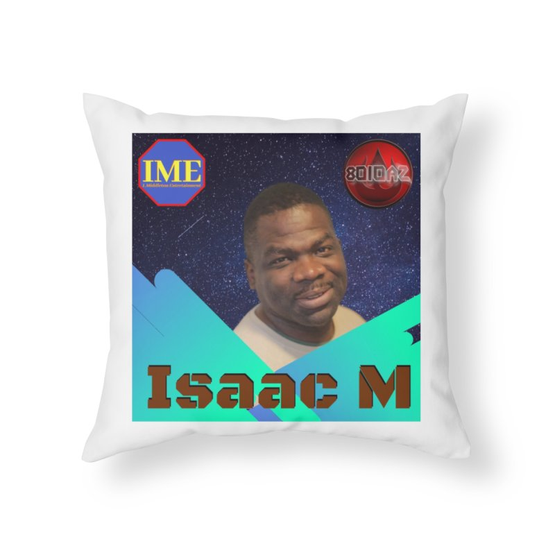 Isaac M - Poster Home Throw Pillow by 8010az's Shop