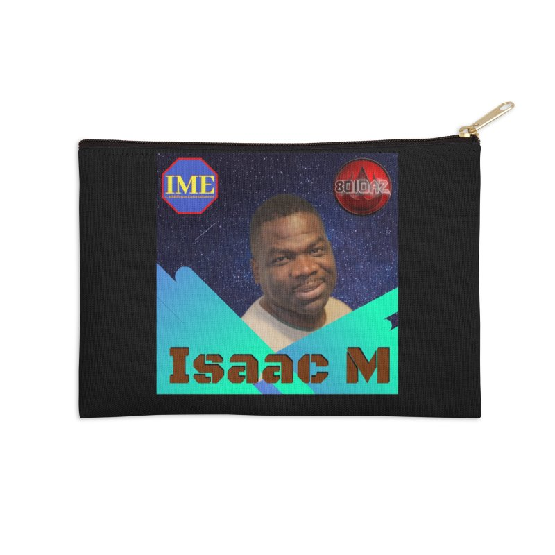 Isaac M - Poster Accessories Zip Pouch by 8010az's Shop