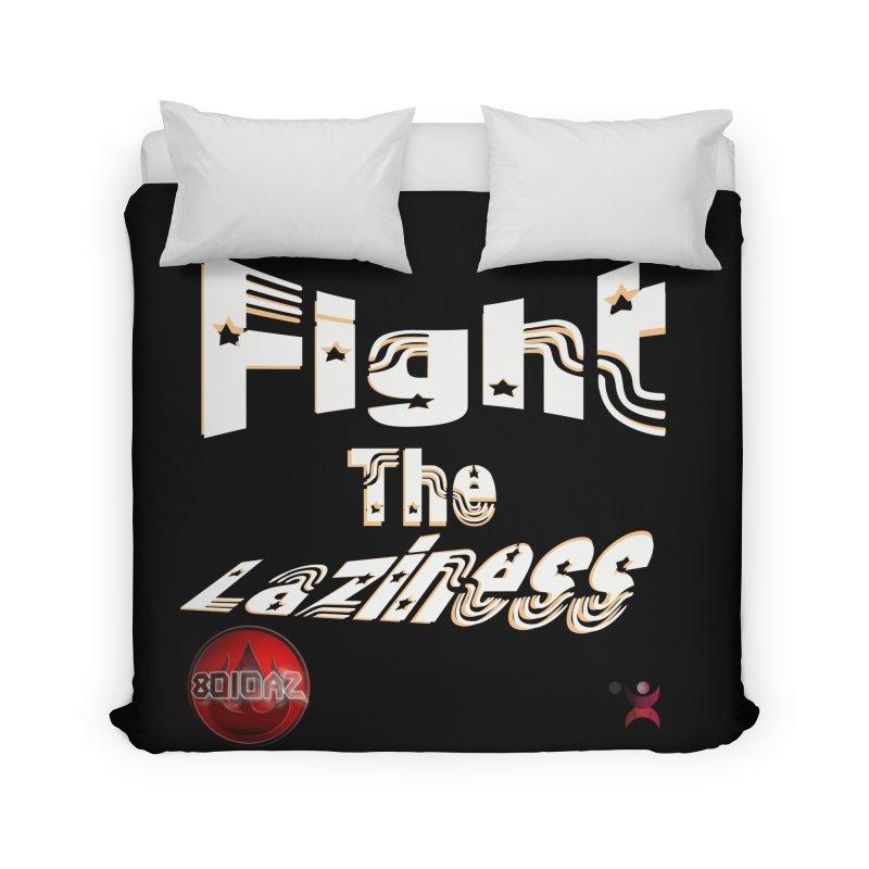 Fight The Laziness - FireHawk Fitness Home Duvet by 8010az's Shop