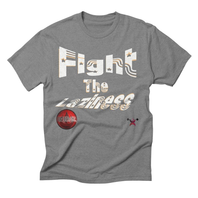 Fight The Laziness - FireHawk Fitness Men's Triblend T-Shirt by 8010az's Shop