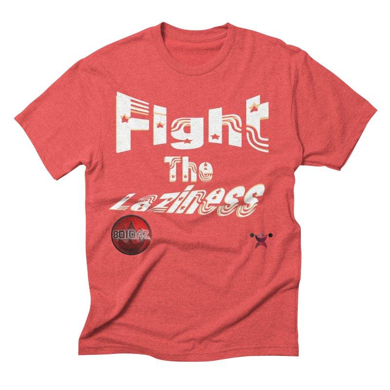 Fight The Laziness - FireHawk Fitness Men's Triblend T-Shirt by 8010az's Shop