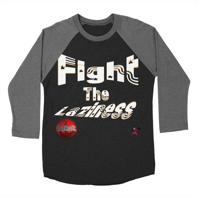 Fight The Laziness - FireHawk Fitness Women's Baseball Triblend Longsleeve T-Shirt by 8010az's Shop