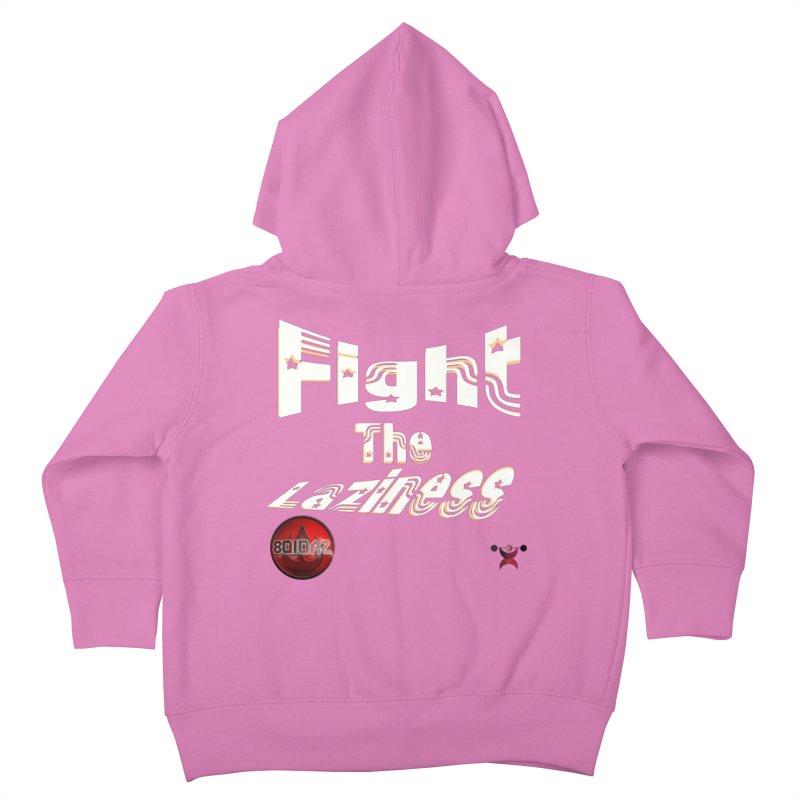 Fight The Laziness - FireHawk Fitness Kids Toddler Zip-Up Hoody by 8010az's Shop