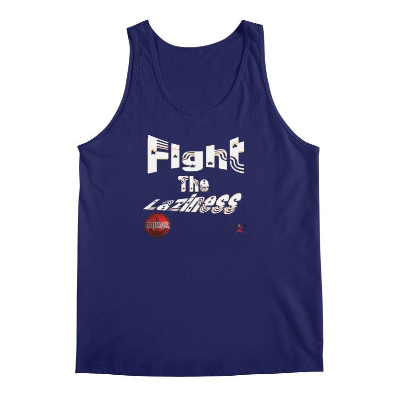 Fight The Laziness - FireHawk Fitness Men's Regular Tank by 8010az's Shop