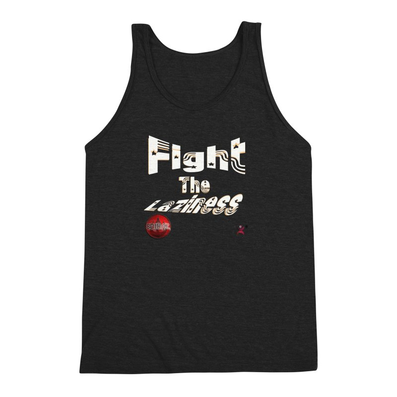Fight The Laziness - FireHawk Fitness Men's Triblend Tank by 8010az's Shop