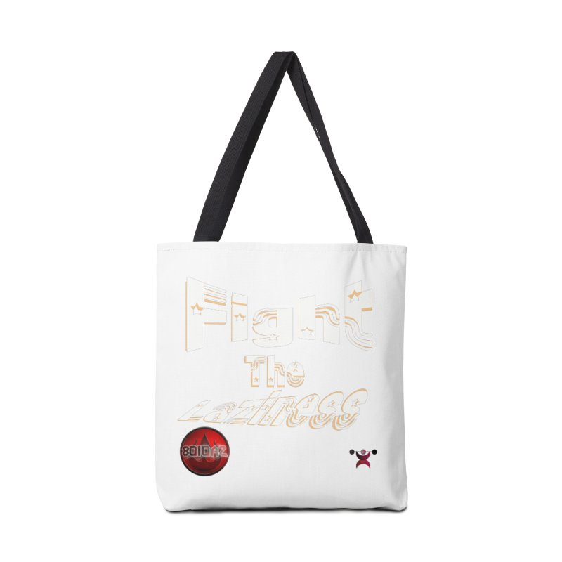 Fight The Laziness - FireHawk Fitness Accessories Tote Bag Bag by 8010az's Shop