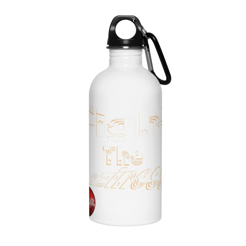 Fight The Laziness - FireHawk Fitness Accessories Water Bottle by 8010az's Shop