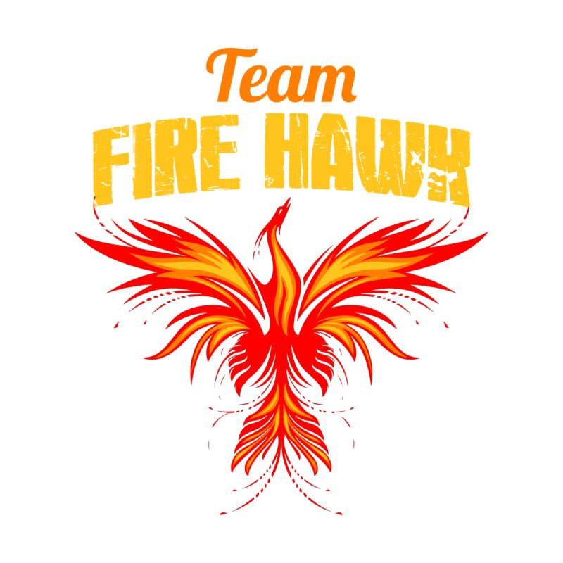 team fire hawk Men's T-Shirt by 8010az's Shop