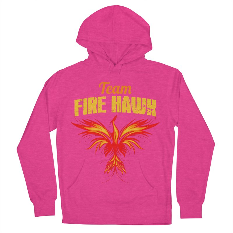 team fire hawk Women's French Terry Pullover Hoody by 8010az's Shop