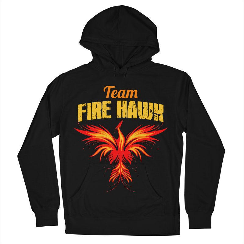 team fire hawk Men's French Terry Pullover Hoody by 8010az's Shop