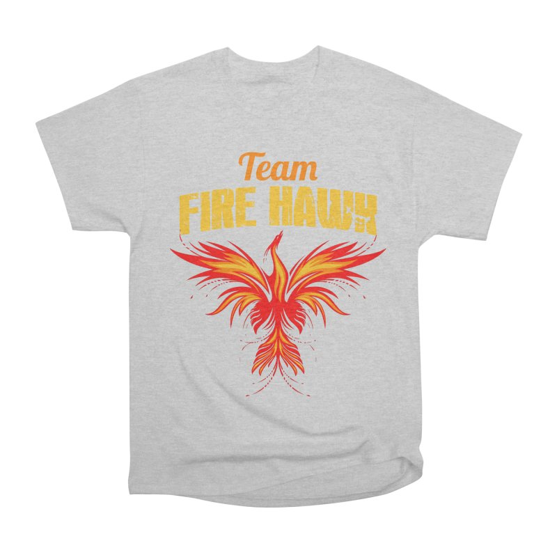 team fire hawk Women's Heavyweight Unisex T-Shirt by 8010az's Shop