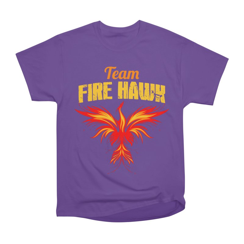 team fire hawk Men's Heavyweight T-Shirt by 8010az's Shop
