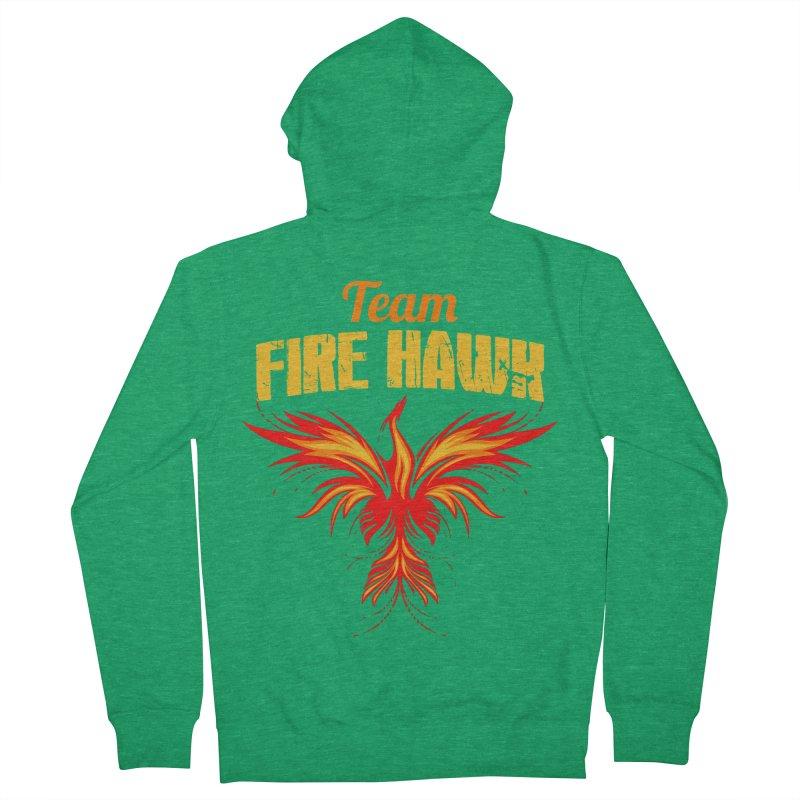 team fire hawk Women's Zip-Up Hoody by 8010az's Shop