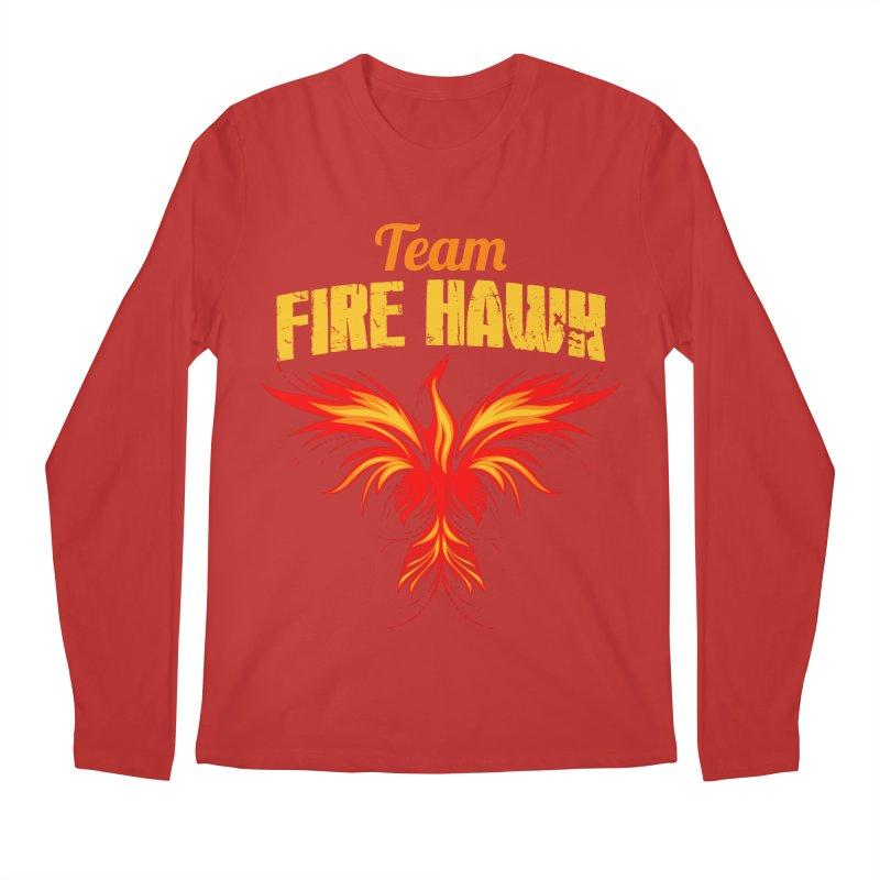 team fire hawk Men's Regular Longsleeve T-Shirt by 8010az's Shop