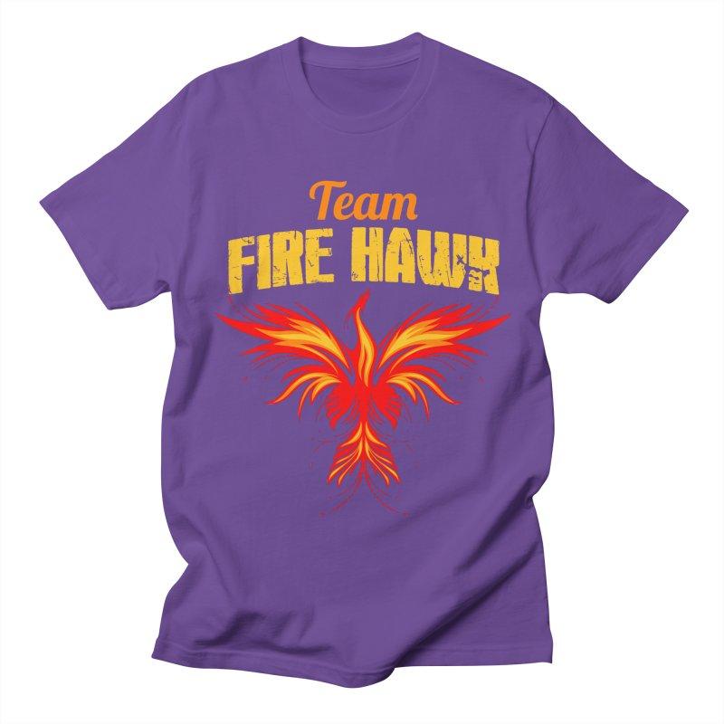 team fire hawk Men's Regular T-Shirt by 8010az's Shop