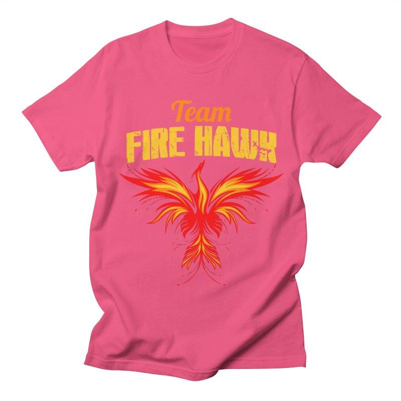 team fire hawk Women's Regular Unisex T-Shirt by 8010az's Shop