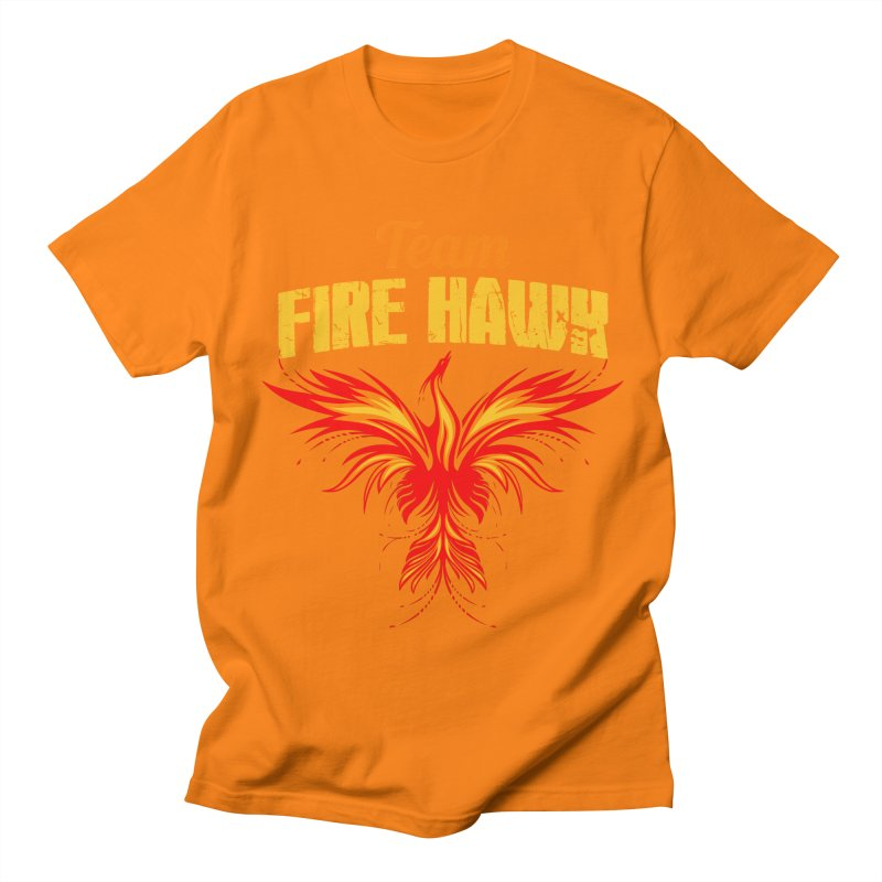 team fire hawk Women's Regular Unisex T-Shirt by 8010az's Shop
