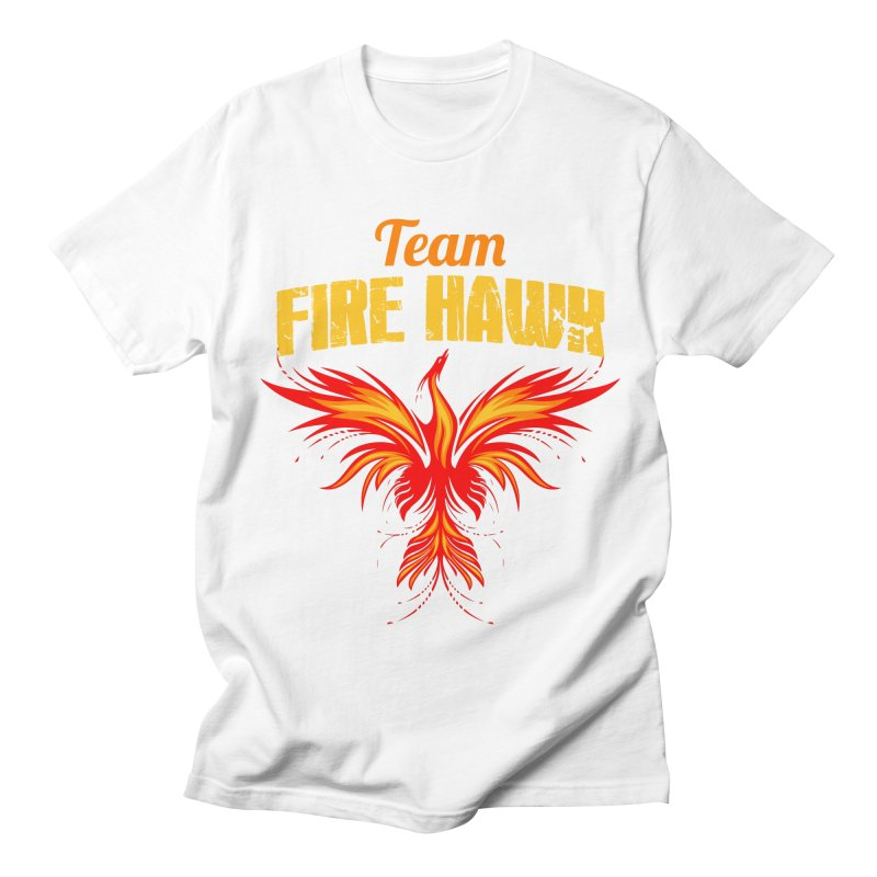 team fire hawk Men's Regular T-Shirt by 8010az's Shop