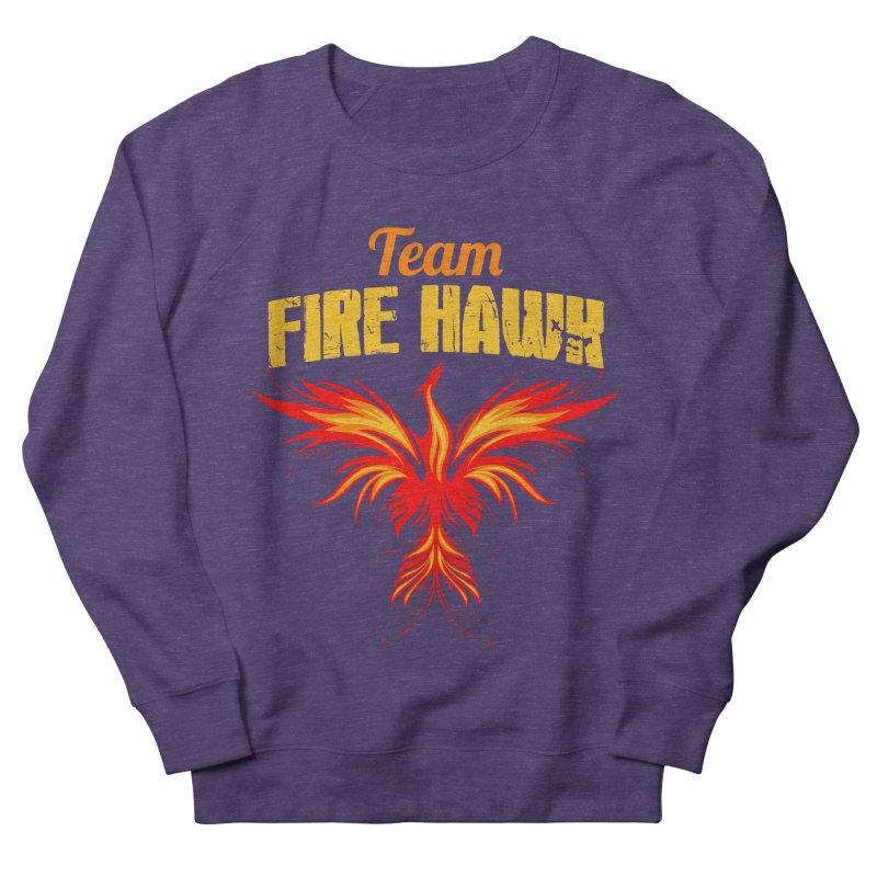 team fire hawk Women's French Terry Sweatshirt by 8010az's Shop