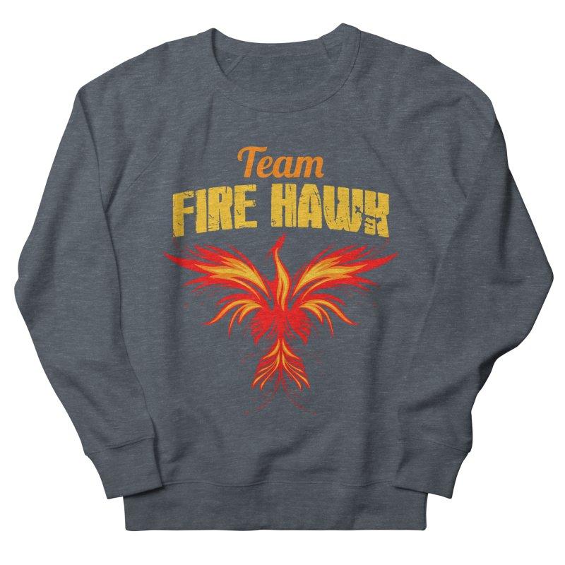 team fire hawk Men's French Terry Sweatshirt by 8010az's Shop