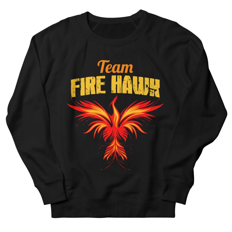 team fire hawk Men's French Terry Sweatshirt by 8010az's Shop