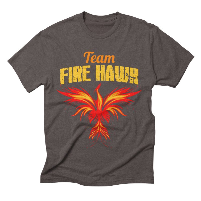team fire hawk Men's Triblend T-Shirt by 8010az's Shop