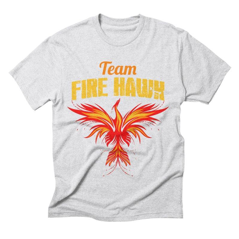 team fire hawk Men's Triblend T-Shirt by 8010az's Shop