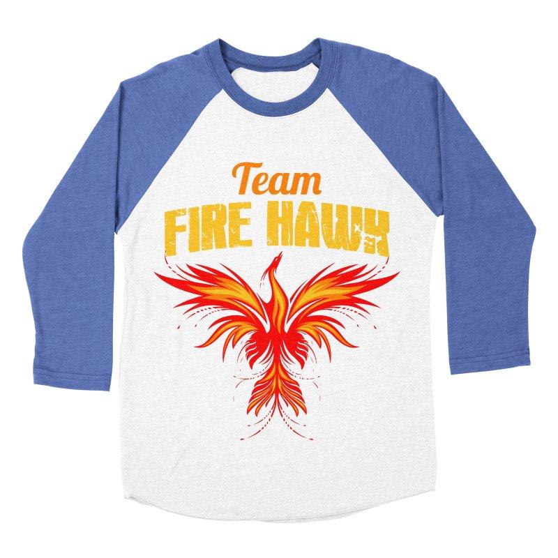 team fire hawk Women's Baseball Triblend Longsleeve T-Shirt by 8010az's Shop