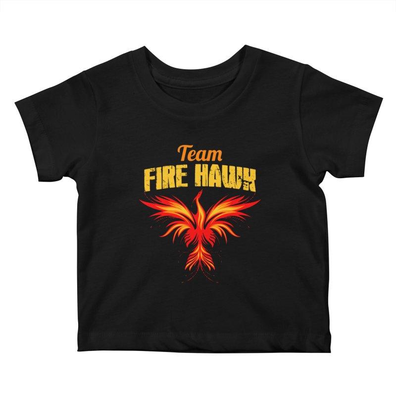 team fire hawk Kids Baby T-Shirt by 8010az's Shop