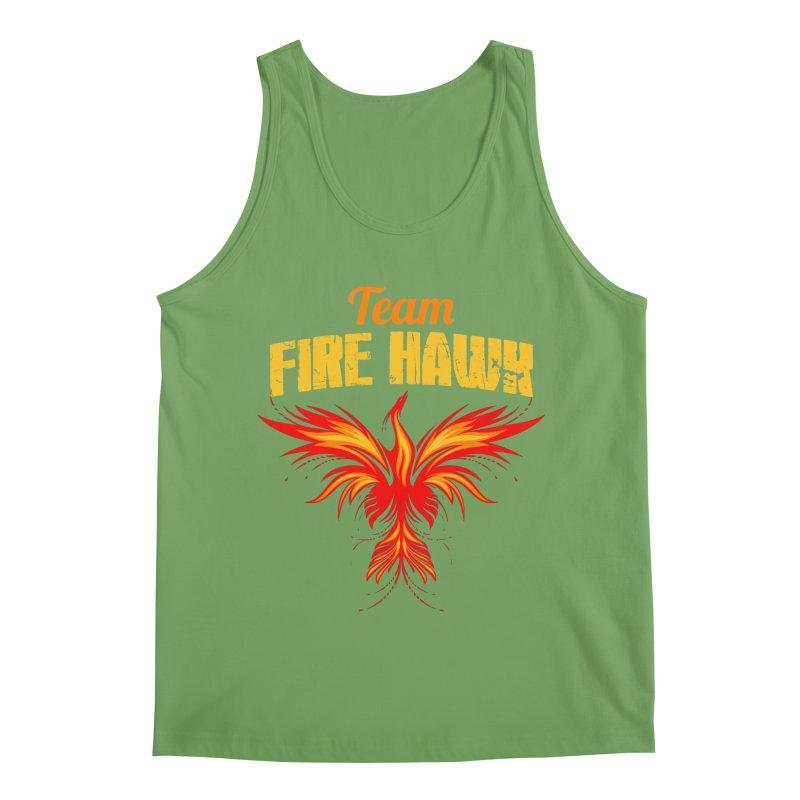 team fire hawk Men's Tank by 8010az's Shop