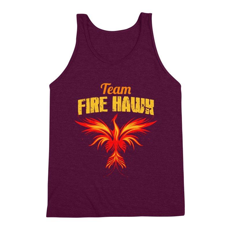 team fire hawk Men's Triblend Tank by 8010az's Shop