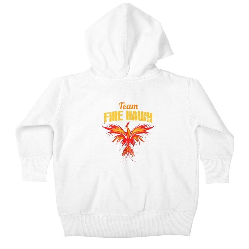 team fire hawk Kids Baby Zip-Up Hoody by 8010az's Shop