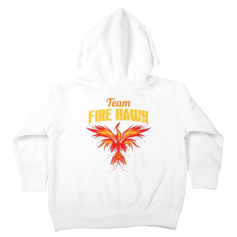 team fire hawk Kids Toddler Zip-Up Hoody by 8010az's Shop