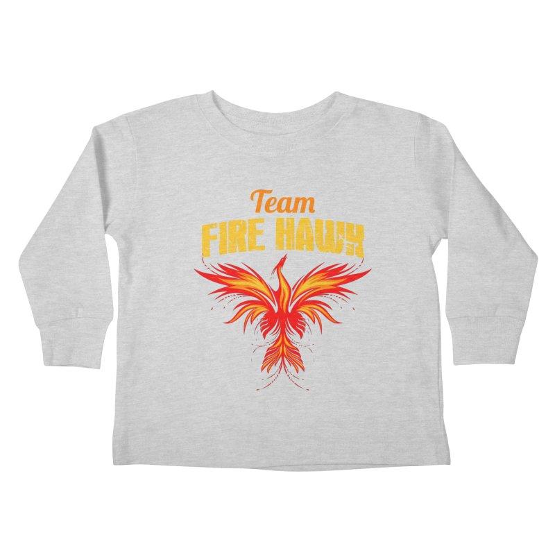 team fire hawk Kids Toddler Longsleeve T-Shirt by 8010az's Shop