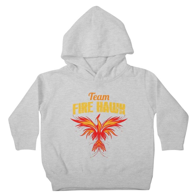 team fire hawk Kids Toddler Pullover Hoody by 8010az's Shop